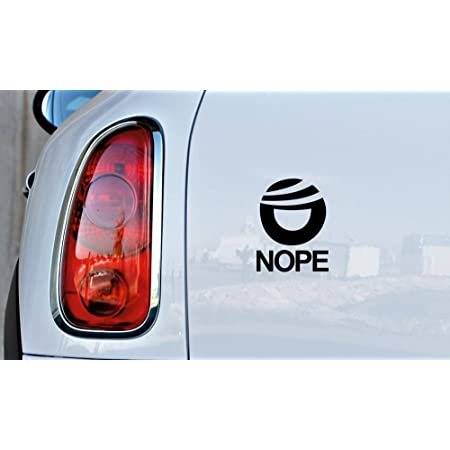Just Say Nope to Trump Vinyl Decal Wall Laptop Bumper Sticker 5