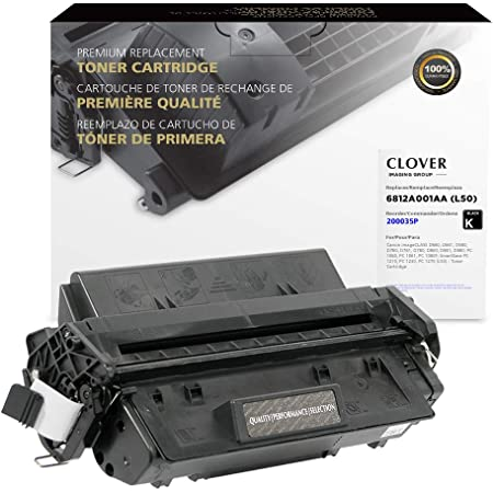 Clover Remanufactured Toner Cartridge for Canon L50 6812A001AA | Black