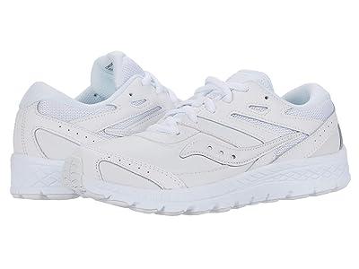 Saucony Kids S-Cohesion 13 LTT (Little Kid/Big Kid) (White) Kids Shoes