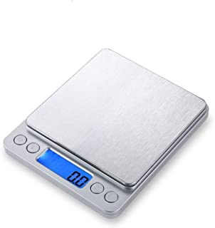 Digital Kitchen Scale, 3000g 0.01oz/ 0.1g Pocket Cooking Scale, Mini Food Scale, Pro Electronic Jewelry Scale with Back-Li...
