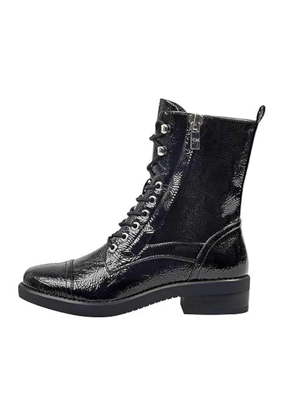 ライトニングすばらしいです報酬の[Marc Fisher] Womens Ulessa2 Closed Toe Mid-Calf Combat Boots [並行輸入品]