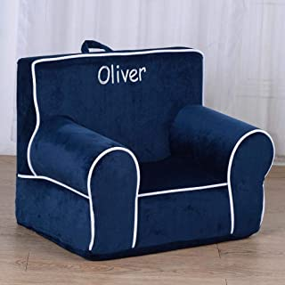 Personalized My Anytime Chair (Navy Blue)