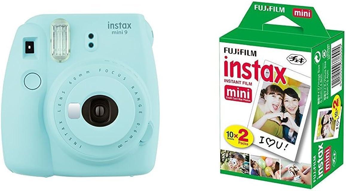 Fujifilm Instax Mini 9 - Cámara instantánea Cámara con 2x10 películas Azul