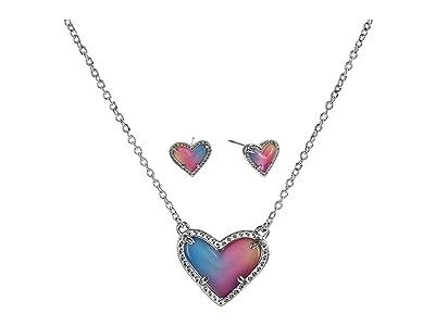 Kendra Scott Ari Heart Pendant Stud Gift Set