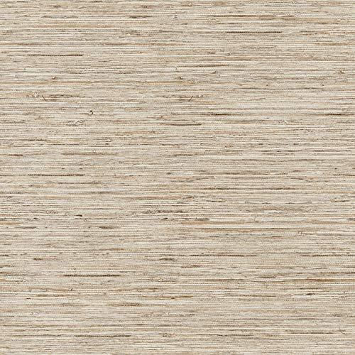 RoomMates Grasscloth Peel and Stick Wallpaper (Renewed)