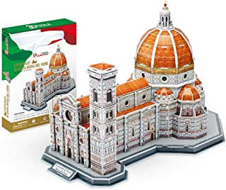 LUGEUK Basilica Di Santa Maria Del Fiore Puzzle Model 3D Model Kits