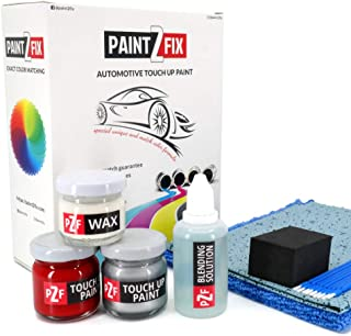 PAINT2FIX Taffeta White NH578-4 Touch Up Paint Compatible with Honda Pilot for Paint Scratch and Chips Repair - Color Match Guarantee - Silver Pack
