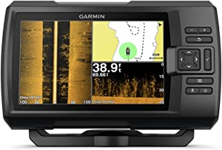 "Garmin Striker 7SV with Transducer, 7"" GPS Fishfinder with Chirp Traditional, ClearVu and SideVu Scanning Sonar Transducer..."