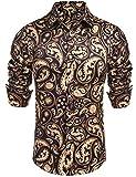 Daupanzees Mens Fashion Long Sleeve Street Wear...