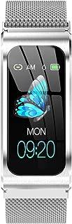 (Smartlove1)AK12スマートブレスレットカラースクリーン防水女性用腕時計血圧計月経周期活動モニタースポーツバンド