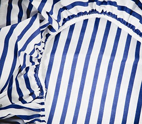 Vizaro - OVERTREK | HOESLAKEN voor AANKLEEDKUSSEN 50x70 cm - 100% KATOEN - TOP KWALITEIT gemaakt in de EU, OekoTex gecertificeerd geen schadelijke stoffen - C. Kleine boot