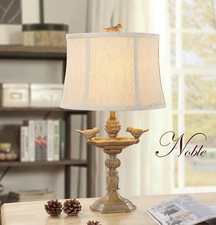 Meters Amerikanischen land wohnzimmer schlafzimmer nachttischlampen tischlampe minimalistischen minimalistischen minimalistischen modernen Europäischen Französisch kreative vogel retro lampe ( Farbe   Braun ) B0778KC3WB     | Clearance Sale  5538b7