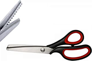 zig zag hair cutting scissors