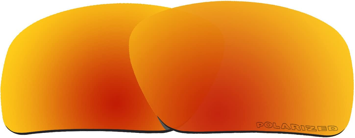 BVANQ Polarized Replacement Lenses Fire Oakley for Branded goods Mirror Max 47% OFF Tr Red