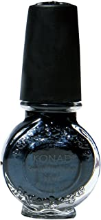 Konad Nail Art Stamping Polish, Black Pearl