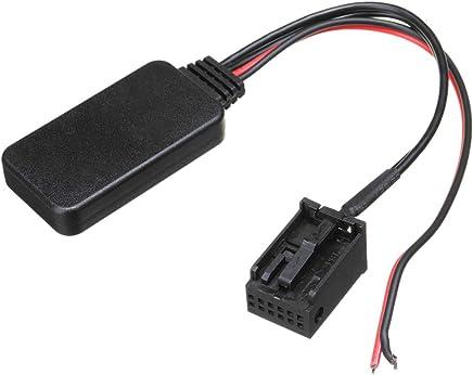 Modulo del Coche Reproductor De Radio Inalambrico Cable De Audio Estereo De Entrada Auxiliar para Renault Cloo Kangoo Megane para Scenic TOOGOO Adaptador Aux