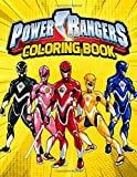Power Rangers Coloring Book: Super coloring book with Power Rangers characters
