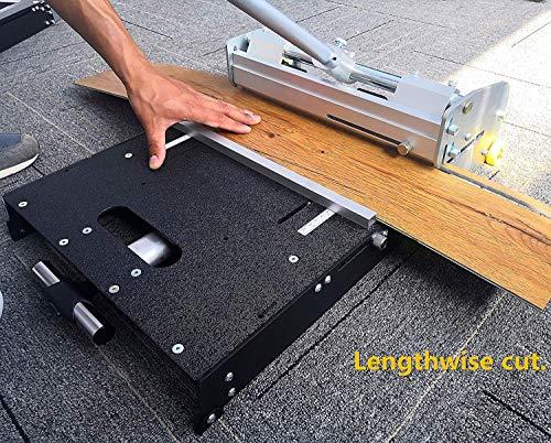 MantisTol LL-330 13-inch LVT/VCT/LVP/WPC/PVC/Vinyl Flooring Cutter, No for SPC, Laminate,Engineered Floor,hard plank! Professional user preferred!