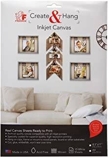 8 by 8-Inch Fredrix 3241 Canvas Panels 3-Pack