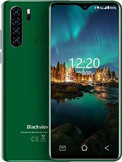 "4G Cell Phones Unlocked Blackview A80 Pro(2020) 6.49"" Waterdrop Screen, 8MP Front Camera + 13MP Quad Rear Camera, 4GB + 64GB ROM,4680mAh Battery,OTG,Fingerprint Unlock,Face ID,Android 9.0 Smartphones"