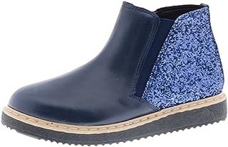 Bota Chelsea Glitter Azul niña Clarys 8741
