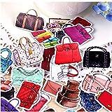 BLOUR 36pcs Creative Kawaii Selbstgemachte Damenhandtaschen Kosmetik Schöne Aufkleber/Dekorative...