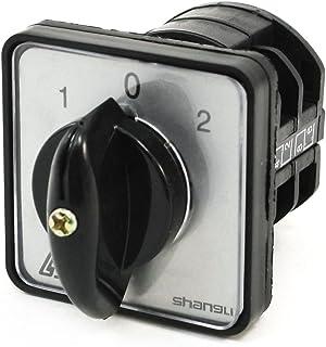 Sourcingmap - 3 1-0-2 posición de la leva del selector giratorio combinación de cambio de 4 terminales