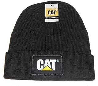 erpillar CAT Logo Black Beanie NEW Knit Cap Hat
