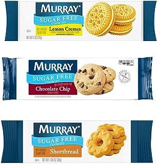 Murray Sugar Free Cookies Variety Single Serve Packs (Pack of 120) (Packaging May Vary)