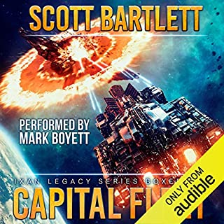 Capital Fleet audiobook cover art