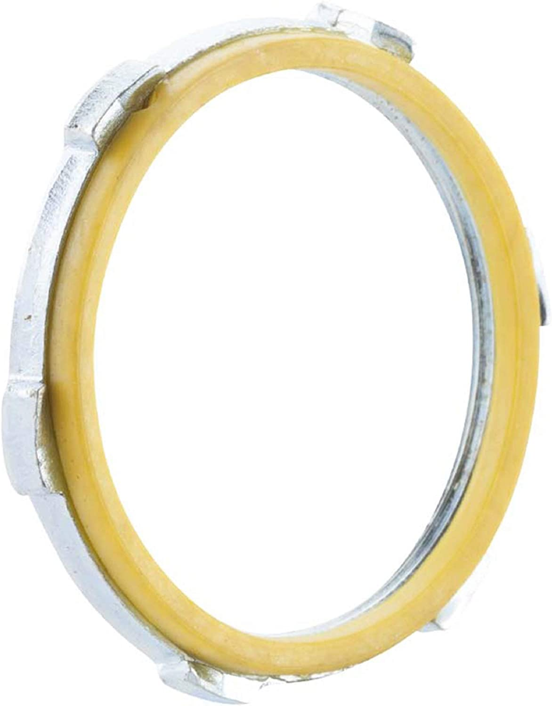 "Lot of 5 Sealing Lock Nut Locknuts 1-1//4/"" for Rigid Electrical Conduit  NOS"
