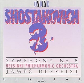 Shostakovich, D.: Symphony No. 8 (Helsinki Philharmonic, Depreist)