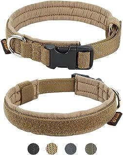 EXCELLENT ELITE SPANKER 犬 首輪 小型犬 ナイロン製 超小型犬 首輪 調整可能 高級 訓練用 散歩 犬 首輪 中型犬 ペット用品