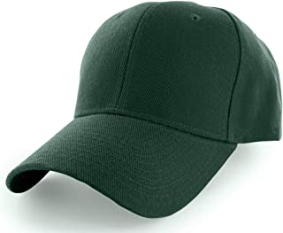 KANGORA Plain Baseball Cap Adjustable Men Women Unisex   Classic 6-Panel Hat   Outdoor Sports Wear (20+Colors)