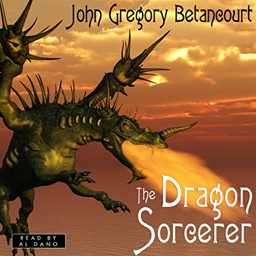 The Dragon Sorcerer audiobook cover art