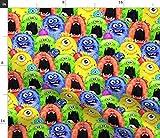Spoonflower Stoff – lustige Monster-Kinder-lustige, bunte