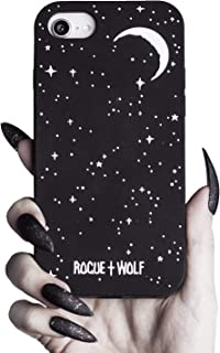Rogue + Wolf Stardust Phone Case Compatible with iPhone 6 6s 7 8 Cases Kawaii Silicone Cover for Girls Spooky