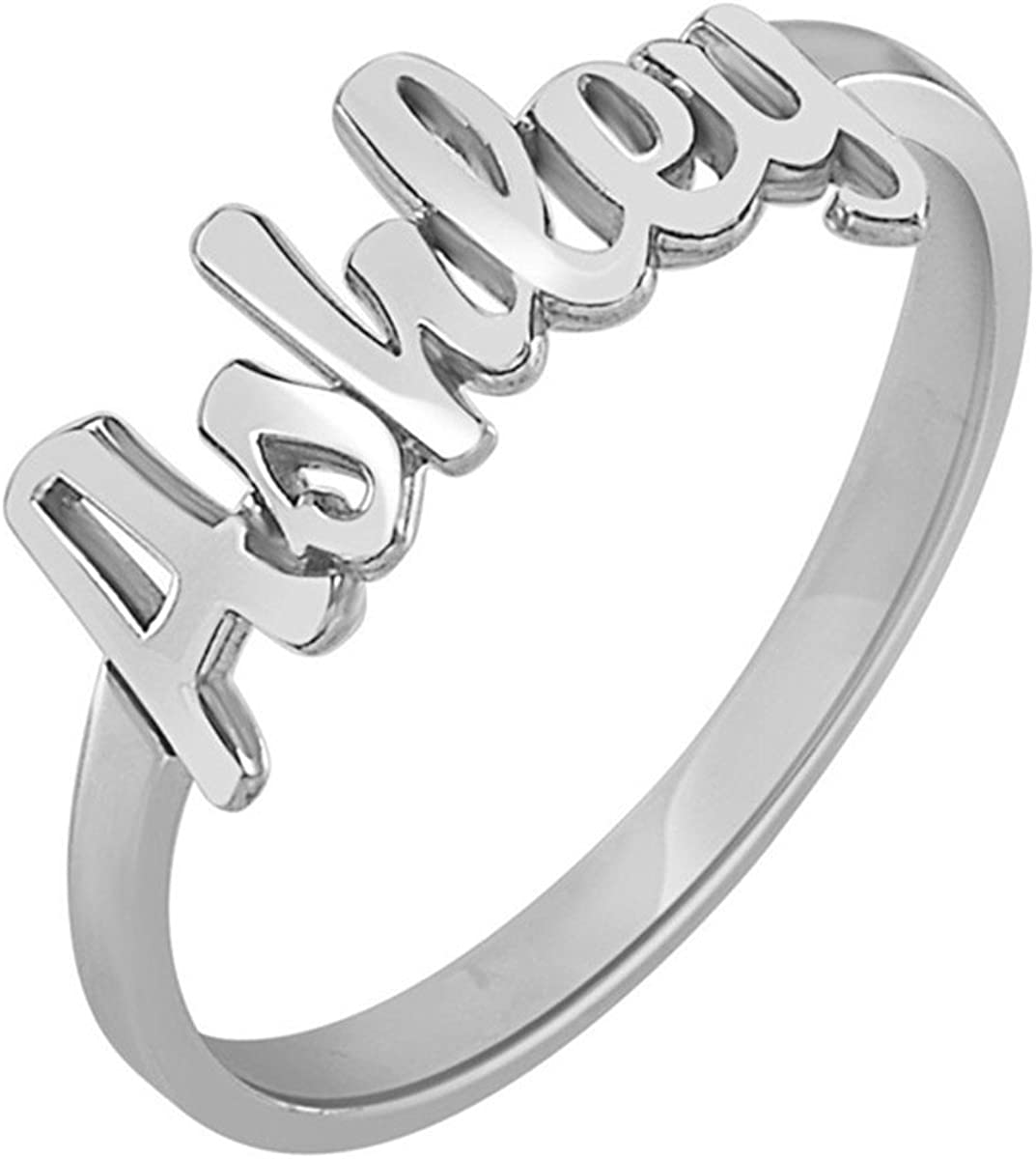 promise ring custom ring ENGRAVED RING everyday ring personalized ring name ring boyfriend name ring