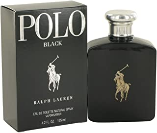 Ralph Lauren Polo Black 4.2 Edt Sp For Men