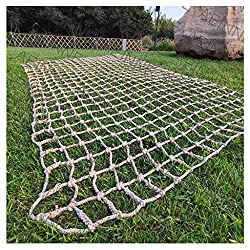 in budget affordable Rope climbing net, climbing net, nylon climbing. Rope A child adult climbing a rope.