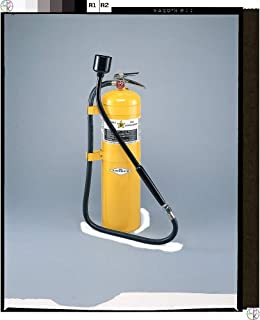 Amerex B570 Class D Sodium Chloride F.M. Approved Fire Extinguisher with Wall Bracket, 30 lb.