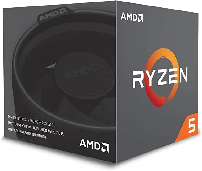 AMD Ryzen 5 6-Core AM4 Desktop Processor + ASRock Motherboard