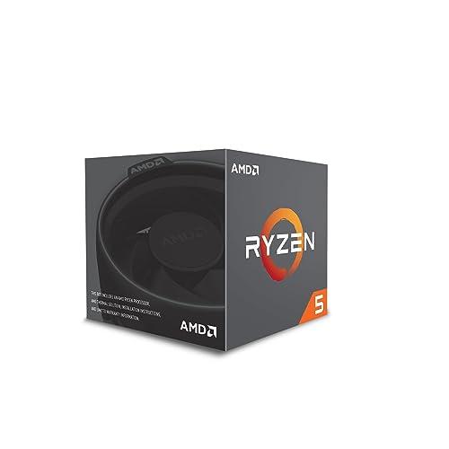 AMD YD2600BBAFBOX, Procesador RYZEN5 2600 Socket AM4 3.9Ghz Max Boost, 3,4Ghz Base+19MB