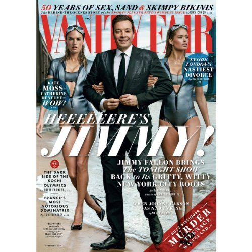 Vanity Fair: February 2014 Issue                   By:                                                                                                                                 Vanity Fair                               Narrated by:                                                                                                                                 Graydon Carter,                                                                                        various narrators                      Length: 4 hrs and 58 mins     Not rated yet     Overall 0.0