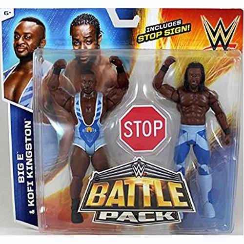 WWE The Day - Big E & Kofi Kingston - Battle Pack Series 36 - In Box