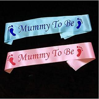 LAVALINK Cumpleaños Mamá Glitter Guillotina Huella Cintas De Raso De La Cintura Escapular De Fiesta Manera De La Decoració...