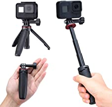 Extendable Selfie Stick for Gopro, Portable Vlog Selife Stick Tripod Stand for Gopro Hero 9/8/7/6/5 Black/Gopro Max DJI Os...