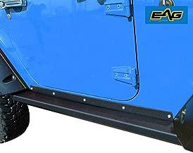EAG Steel Offroad Rock Sliders Fit for 07-18 Jeep Wrangler JK 2 Door