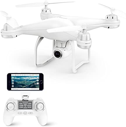 Potensic ドローン GPS搭載 高度・座標ホバリング 1080P 120°広角HDカメラ付き フォローミーモード オートリターンモード WIFIリアタイム 国内認証済み T25