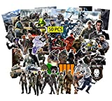Kilmila Game Call of Duty Stickers (50Pcs Large Size) Gifts Merch Call of Duty Games Party Supplies Vinyl Stickers for Skateboard Guitar Laptop Luggage Teens Girls